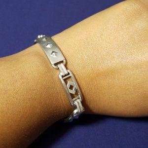 Jewelry - Studded Silver Bracelet